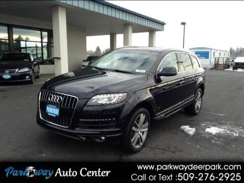 2013 Audi Q7 for sale at PARKWAY AUTO CENTER AND RV in Deer Park WA