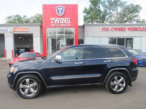 2012 Jeep Grand Cherokee for sale at Twins Auto Sales Inc Redford 1 in Redford MI