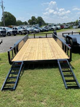 """2021 HD UTILITY TRAILER 83""""x20' 3500LB Axles 1-Brake for sale at TINKER MOTOR COMPANY in Indianola OK"""