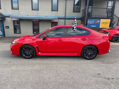 2019 Subaru WRX for sale at Sisson Pre-Owned in Uniontown PA