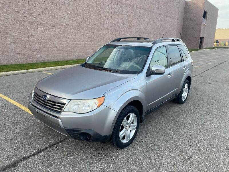2010 Subaru Forester for sale at JE Autoworks LLC in Willoughby OH
