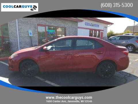 2018 Toyota Corolla for sale at Cool Car Guys in Janesville WI