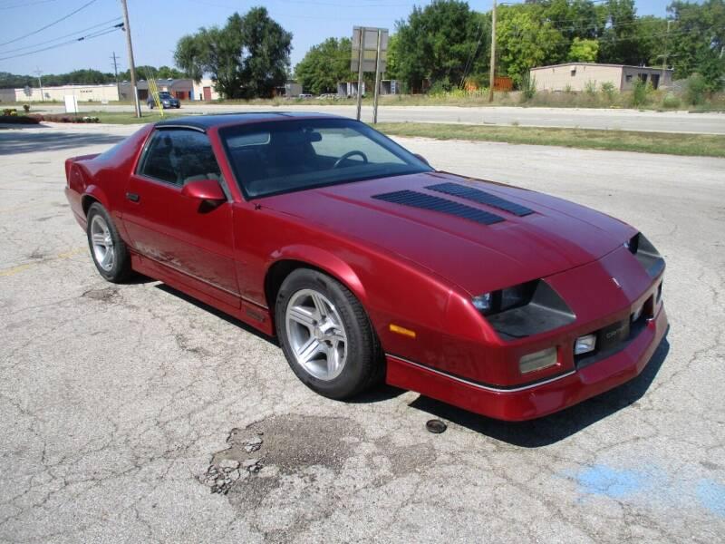 1990 Chevrolet Camaro for sale at RJ Motors in Plano IL