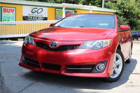 2014 Toyota Camry for sale at Go Auto Sales in Gainesville GA