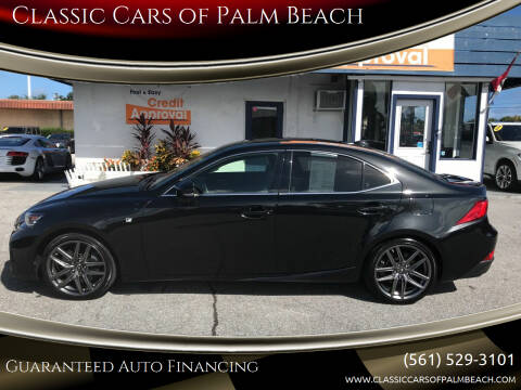 2018 Lexus IS 350 for sale at Classic Cars of Palm Beach in Jupiter FL