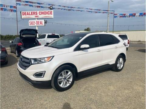 2016 Ford Edge for sale at Dealers Choice Inc in Farmersville CA