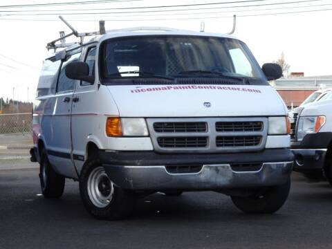 1999 Dodge Ram Van for sale at AK Motors in Tacoma WA