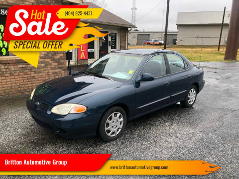 2000 Hyundai Elantra for sale at Britton Automotive Group in Loganville GA