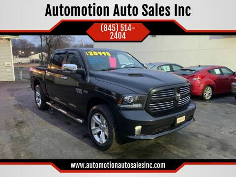 2013 RAM Ram Pickup 1500 for sale at Automotion Auto Sales Inc in Kingston NY
