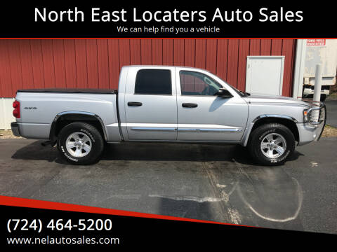2008 Dodge Dakota for sale at North East Locaters Auto Sales in Indiana PA