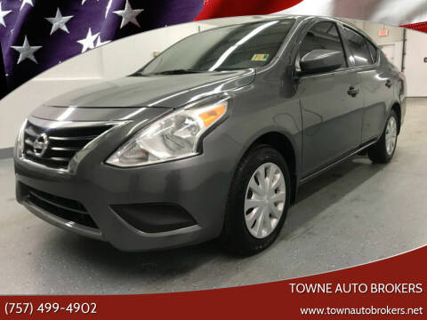 2018 Nissan Versa for sale at TOWNE AUTO BROKERS in Virginia Beach VA