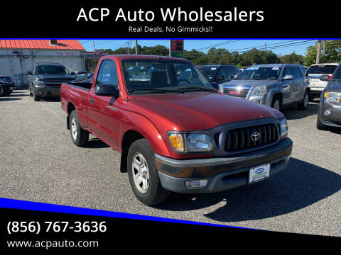 2002 Toyota Tacoma for sale at ACP Auto Wholesalers in Berlin NJ