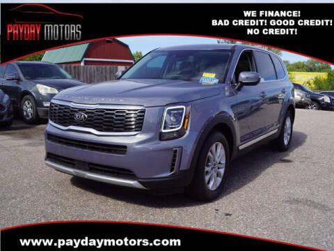 2021 Kia Telluride for sale at Payday Motors in Wichita KS