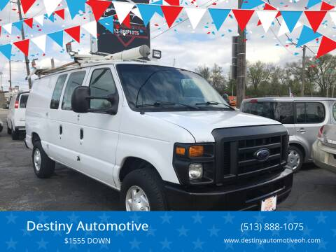 2009 Ford E-Series Cargo for sale at DestanY AUTOMOTIVE in Hamilton OH