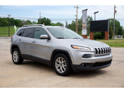 2014 Jeep Cherokee for sale at Sand Springs Auto Source in Sand Springs OK