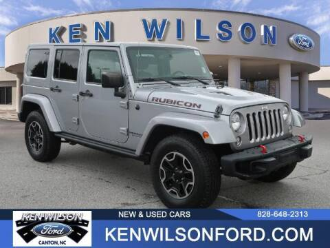 2016 Jeep Wrangler Unlimited for sale at Ken Wilson Ford in Canton NC