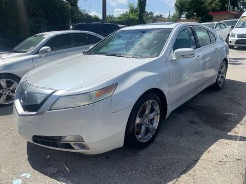 2010 Acura TL for sale at P J Auto Trading Inc in Orlando FL