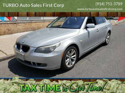 2009 BMW 5 Series for sale at TURBO Auto Sales First Corp in Yonkers NY