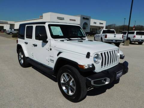 2020 Jeep Wrangler Unlimited for sale at Stanley Chrysler Dodge Jeep Ram Gatesville in Gatesville TX
