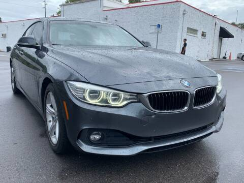 2015 BMW 4 Series for sale at Consumer Auto Credit in Tampa FL