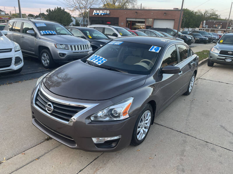 2014 Nissan Altima for sale at AM AUTO SALES LLC in Milwaukee WI