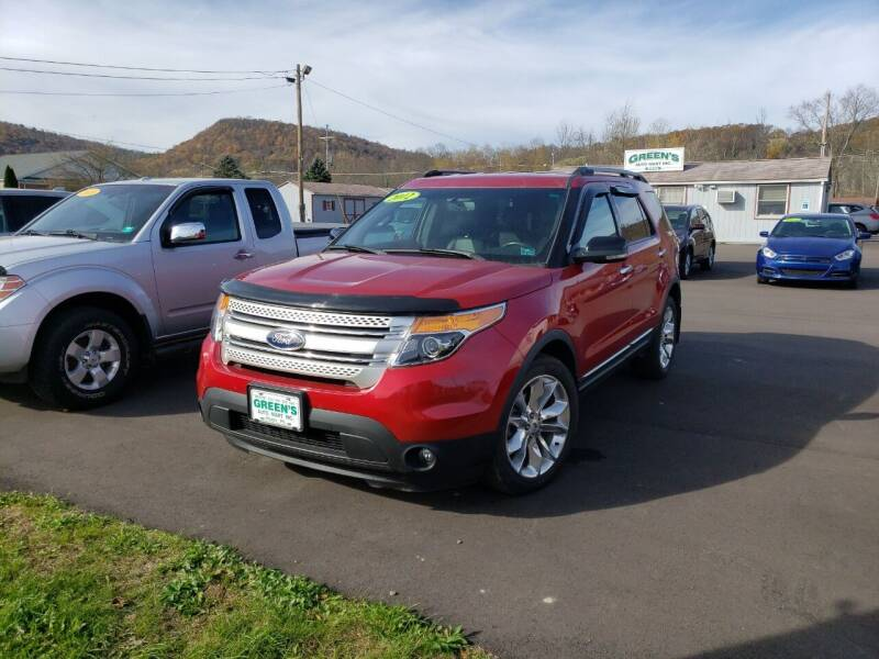 2012 Ford Explorer for sale at Greens Auto Mart Inc. in Wysox PA