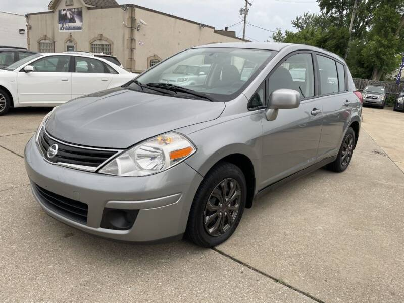 2011 Nissan Versa for sale at T & G / Auto4wholesale in Parma OH