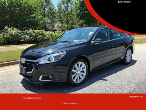2014 Chevrolet Malibu for sale at Judex Motors in Loganville GA