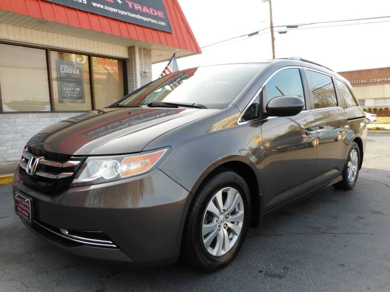 2015 Honda Odyssey for sale at Super Sports & Imports in Jonesville NC