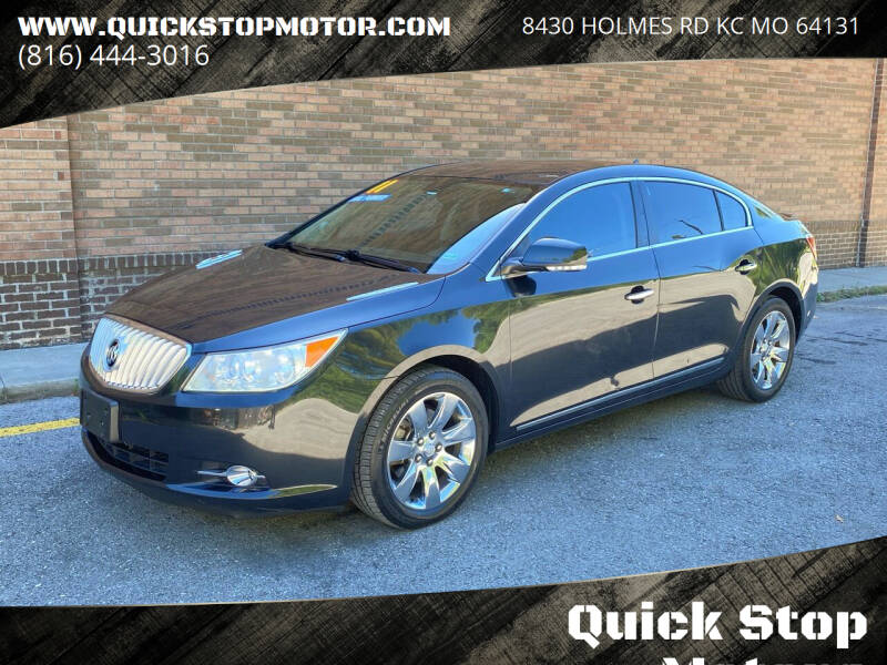 2011 Buick LaCrosse for sale at Quick Stop Motors in Kansas City MO