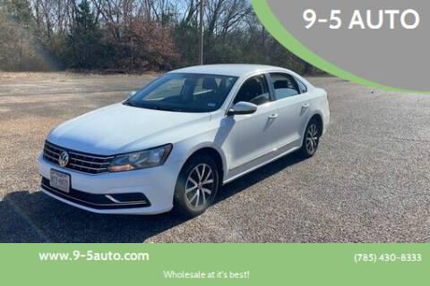2017 Volkswagen Passat for sale at 9-5 AUTO in Topeka KS