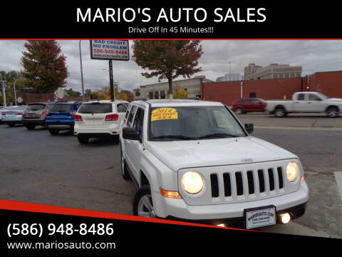 2014 Jeep Patriot for sale at MARIO'S AUTO SALES in Mount Clemens MI