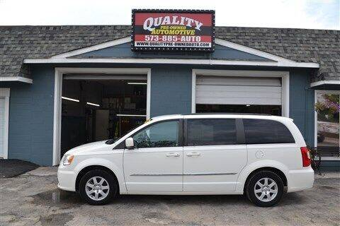 2011 Chrysler Town and Country for sale at Quality Pre-Owned Automotive in Cuba MO