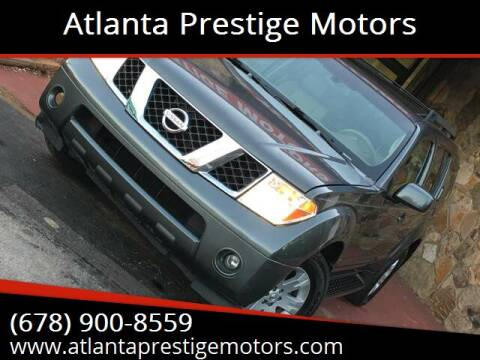 2005 Nissan Pathfinder for sale at Atlanta Prestige Motors in Decatur GA