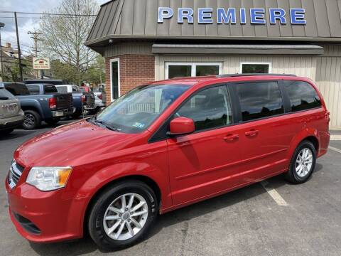 2013 Dodge Grand Caravan for sale at Premiere Auto Sales in Washington PA
