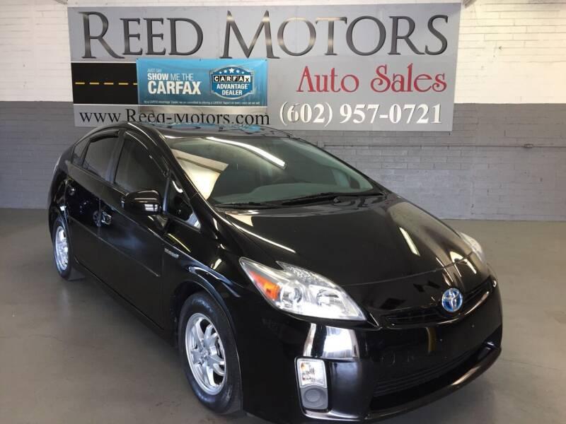 2010 Toyota Prius for sale at REED MOTORS LLC in Phoenix AZ
