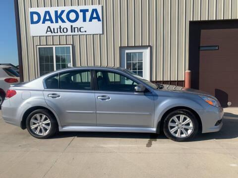 2012 Subaru Legacy for sale at Dakota Auto Inc. in Dakota City NE