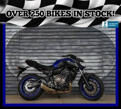 2018 Yamaha MT-07 for sale at Motomaxcycles.com in Mesa AZ