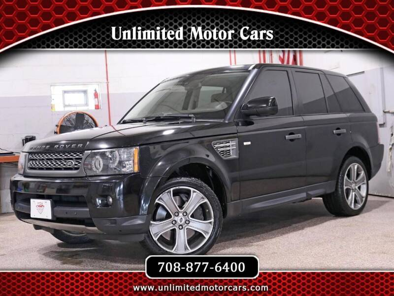 2010 Land Rover Range Rover Sport for sale at Unlimited Motor Cars in Bridgeview IL