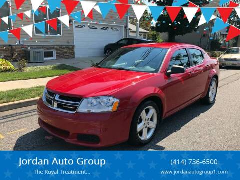 2013 Dodge Avenger for sale at Jordan Auto Group in Paterson NJ