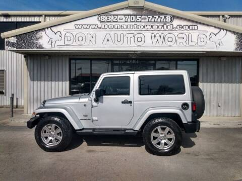 2011 Jeep Wrangler for sale at Don Auto World in Houston TX