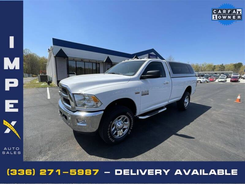2018 RAM Ram Pickup 2500 for sale at Impex Auto Sales in Greensboro NC