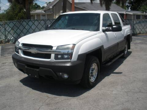 2003 Chevrolet Avalanche for sale at Priceline Automotive in Tampa FL