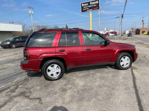 2006 Chevrolet TrailBlazer for sale at Bruce Kunesh Auto Sales Inc in Defiance OH