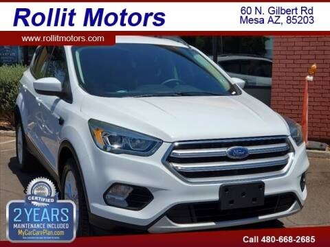 2017 Ford Escape for sale at Rollit Motors in Mesa AZ
