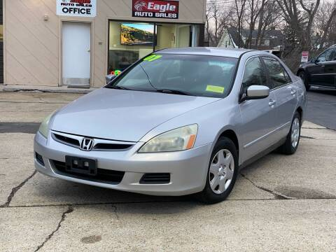 2007 Honda Accord for sale at Eagle Auto Sales LLC in Holbrook MA