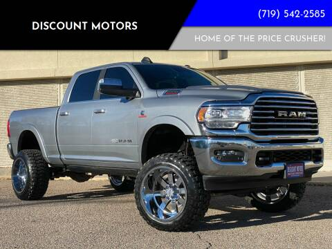 2019 RAM Ram Pickup 2500 for sale at Discount Motors in Pueblo CO