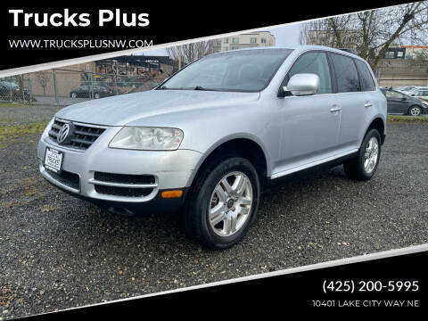 2006 Volkswagen Touareg for sale at Trucks Plus in Seattle WA
