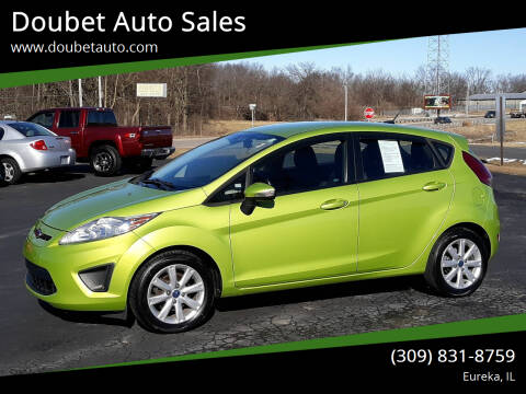2013 Ford Fiesta for sale at Doubet Auto Sales in Eureka IL