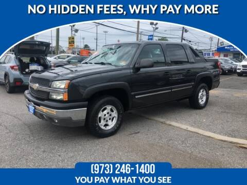 2004 Chevrolet Avalanche for sale at Route 46 Auto Sales Inc in Lodi NJ